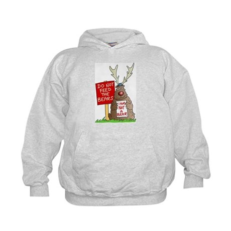 Do Not Feed the Bears Kids Hoodie