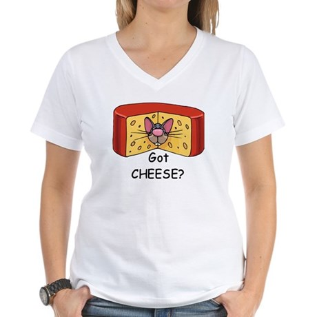 Got Cheese? Women's V-Neck T-Shirt