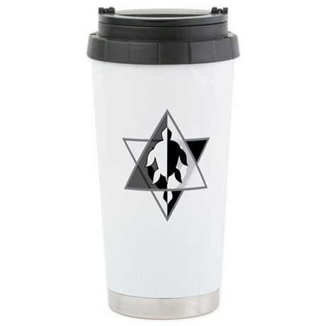 Star Turtle Ceramic Travel Mug