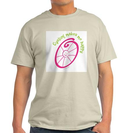 Happy Cycling Light T-Shirt