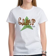 Camp With a Cab Tee