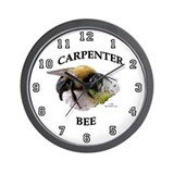 Carpenter Bee Wall Clock