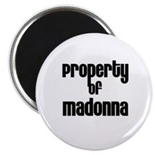 "Property of Madonna 2.25"" Magnet (10 pack)"