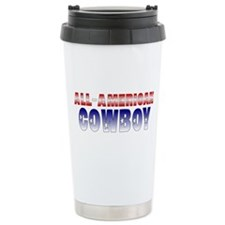 Ceramic Travel Mug-All-American Cowboy