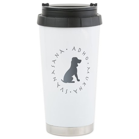 Down Dog Ceramic Travel Mug