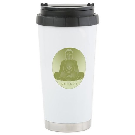 Yoga Buddha 1 Ceramic Travel Mug