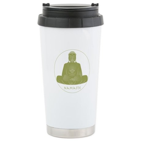 Yoga Buddha 3 Ceramic Travel Mug