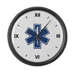 EMT Rescue Large Wall Clock