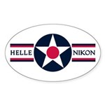 Hellenikon Air Base Oval Sticker