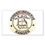 Forest Reserve Rectangle Sticker