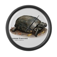 Gopher Tortoise Large Wall Clock