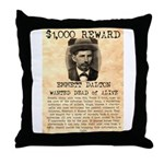 Emmett Dalton Throw Pillow