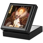 Queen/Fox Terrier (#S4) Keepsake Box