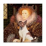 Queen/Fox Terrier (#S4) Tile Coaster