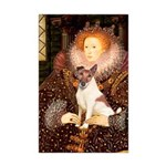 Queen/Fox Terrier (#S4) Mini Poster Print