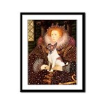 Queen/Fox Terrier (#S4) Framed Panel Print