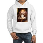 Queen/Fox Terrier (#S4) Hooded Sweatshirt