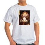 Queen/Fox Terrier (#S4) Light T-Shirt