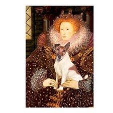 Queen/Fox Terrier (#S4) Postcards (Package of 8)