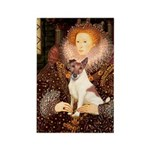 Queen/Fox Terrier (#S4) Rectangle Magnet