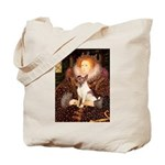 Queen/Fox Terrier (#S4) Tote Bag