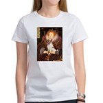 Queen/Fox Terrier (#S4) Women's T-Shirt