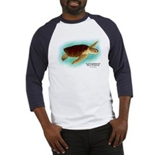 Loggerhead Sea Turtle Baseball Jersey