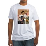Cleopatra-Sammy/Libby Fitted T-Shirt