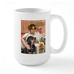 Cleopatra-Sammy/Libby Large Mug