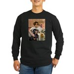 Cleopatra-Sammy/Libby Long Sleeve Dark T-Shirt