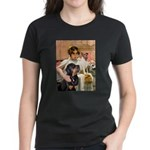 Cleopatra-Sammy/Libby Women's Dark T-Shirt