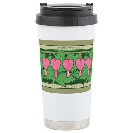 Bleeding Heart Ceramic Travel Mug