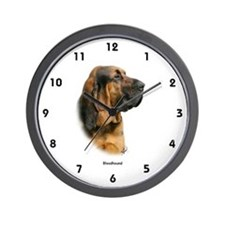 Bloodhound 9Y404D-124 Wall Clock
