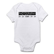 Photography Is Infant Bodysuit