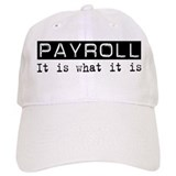 Payroll Is Baseball Cap