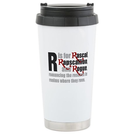 R is for Rascal Ceramic Travel Mug