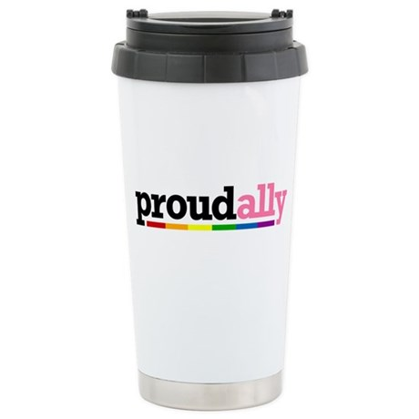 Proud Ally Ceramic Travel Mug
