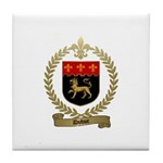 DUBUC Family Crest Tile Coaster