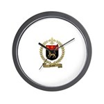 DUBUC Family Crest Wall Clock