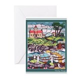 Lighthouse Mural Greeting Cards (Pk of 10)