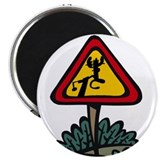 "Moose Crossing 2.25"" Magnet (10 pack)"