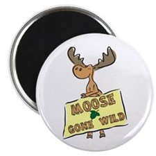 Moose Gone Wild Magnet