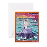Lighthouse Mural Greeting Cards (Pk of 20)