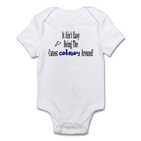 Infant Bodysuit-Cutest Cowboy Around
