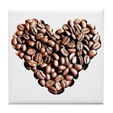 Coffee Lover Tile Coaster