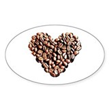 Coffee Lover Oval Decal