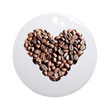 Coffee Lover Ornament (Round)
