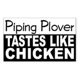 Piping Plover Tastes Like Chicken Decal