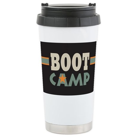 Military Boot Camp on Force Gifts   Air Force Mugs   Military Boot Camp Ceramic Travel Mug