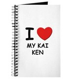 I love MY KAI KEN Journal